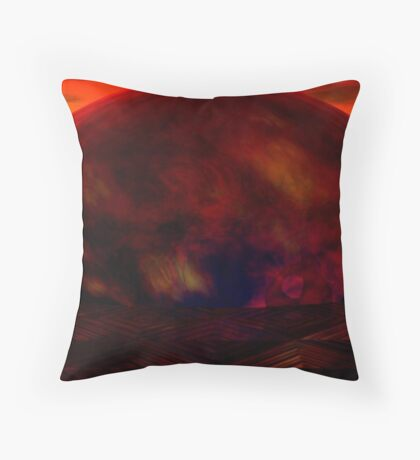 What we left behind ... Throw Pillow