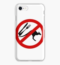 Don't eat Kangaroos iPhone Case/Skin