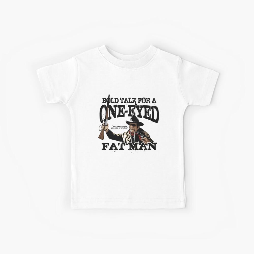 """One Eyed Fat Man"" Kids T-Shirt"
