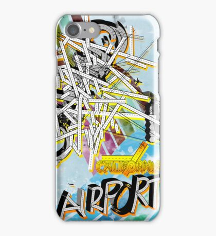 california airport iPhone Case/Skin