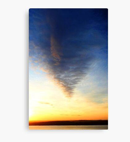 Cloud Taper Canvas Print
