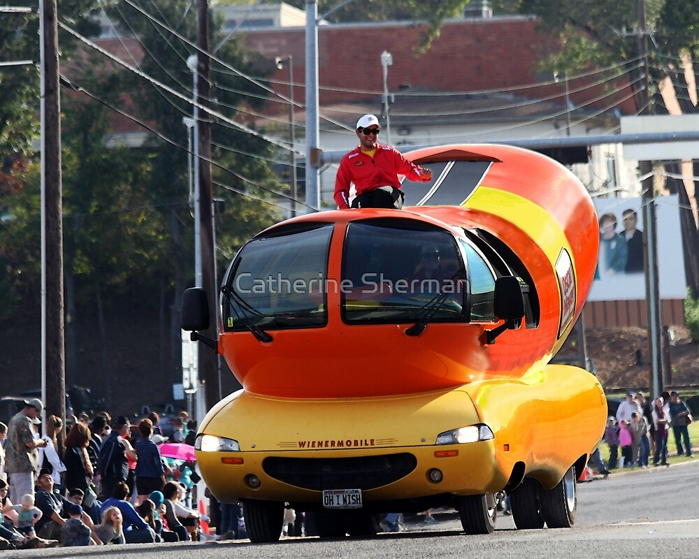 Weinermobile by Catherine Sherman