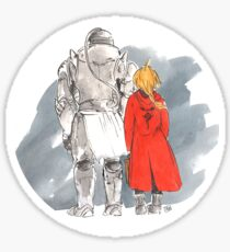 Heart Made Fullmetal Sticker