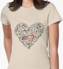I Love Brompton Bikes Women's Fitted T-Shirt