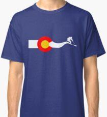 Ski Colorado Flag Classic T-Shirt