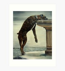 The Drinking Fountain Art Print
