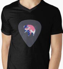 Pink Floyd Guitar Pick Men's V-Neck T-Shirt