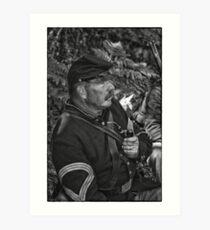 The Sergeant Major Art Print