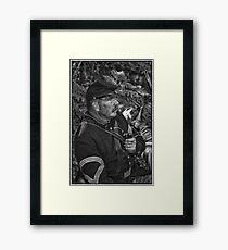 The Sergeant Major Framed Print