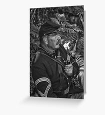 The Sergeant Major Greeting Card