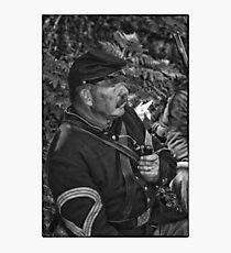 The Sergeant Major Photographic Print