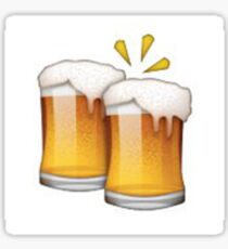 Beer Emoji Stickers | Redbubble
