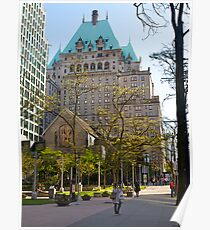 Fairmont Hotel, Vancouver, Canada, 2012. Poster