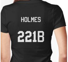 Sherlock Holmes jersey (v2) Womens Fitted T-Shirt