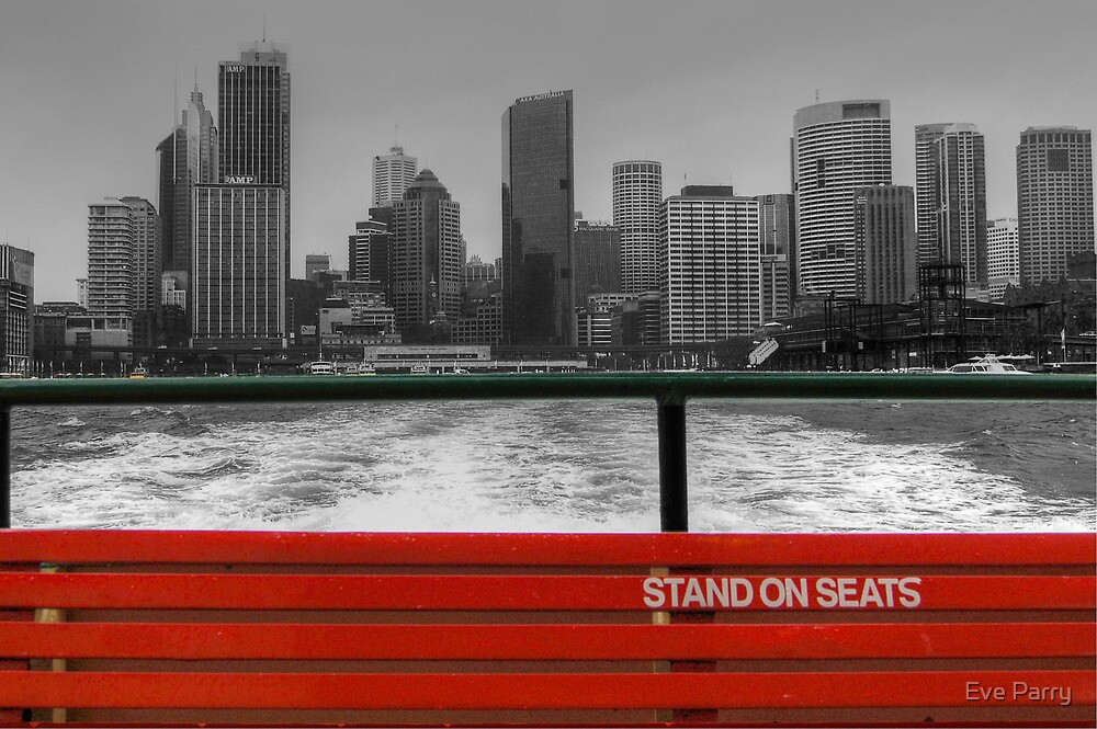 Leaving Circular Quay by Eve Parry