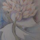 doves and petals by Ellen Keagy