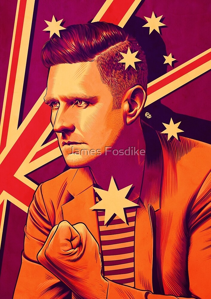 Wil Anderson - Political Wil (textless) by James Fosdike