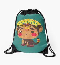 The Little Monkey King Drawstring Bag