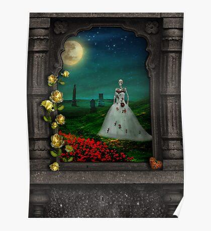 """Dia De Los Muertos """"The Bride"""" Poster"""