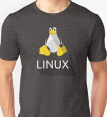 Tux the Penguin flatshaded T-Shirt