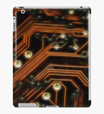 Neon Style Digital Age Processor Board iPad Case/Skin