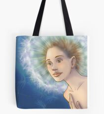 Dandelion Girl Tote Bag