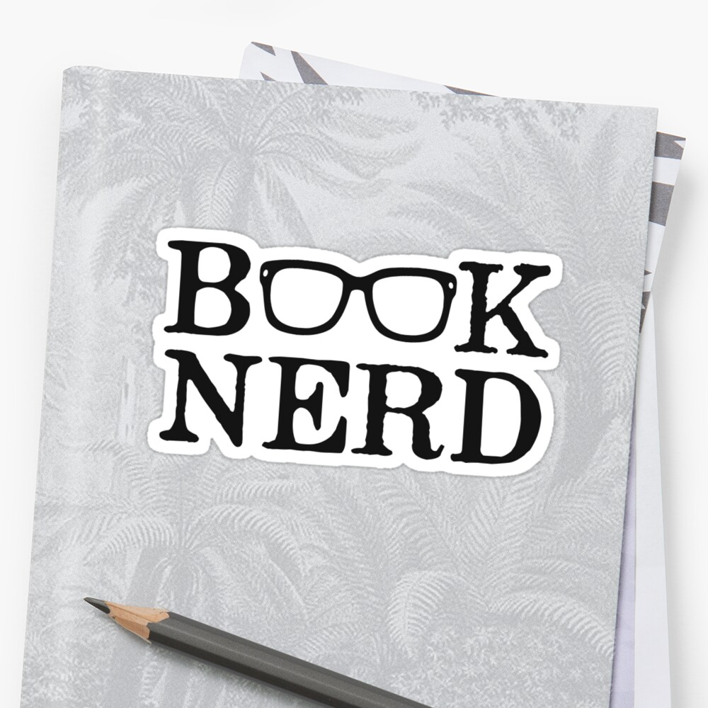 Book Nerd Nerdy Glasses by TheShirtYurt