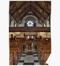St Mary's Church Interior - Belfast Poster