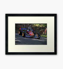 Open Wheeler at Mount Cotton Hill Climb Framed Print