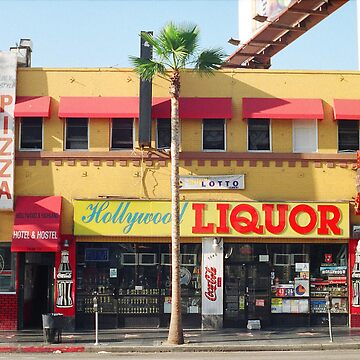 Hollywood Liquor Store by joshwedlake