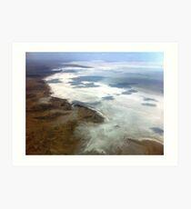 Lake Eyre Art Print