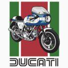 Ducati 900SS by Steve Harvey