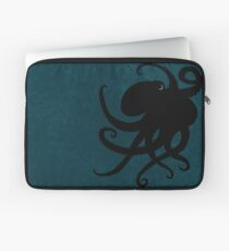 Octopus Silhouette, by Amber Marine © 2015 Laptop Sleeve