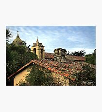 Carmel Mission Photographic Print