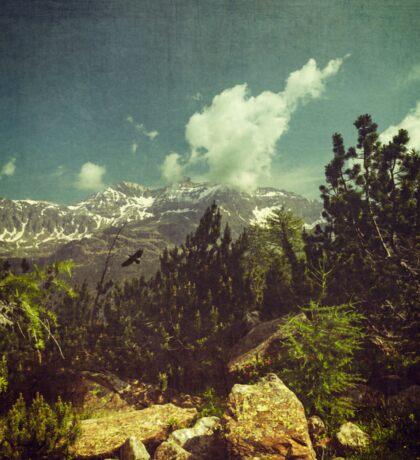 Italian Mountains Sticker