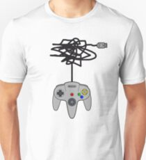 N64 Pad Tangle Unisex T-Shirt