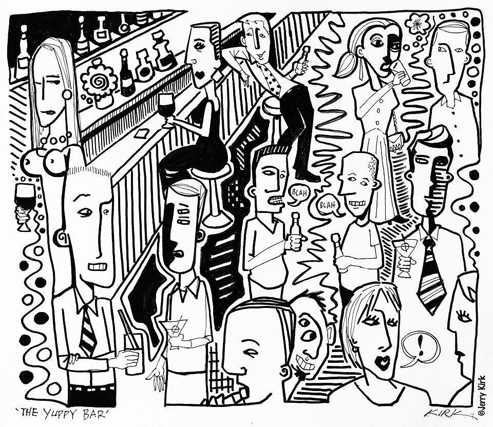 'The Yuppie Bar' by Jerry Kirk