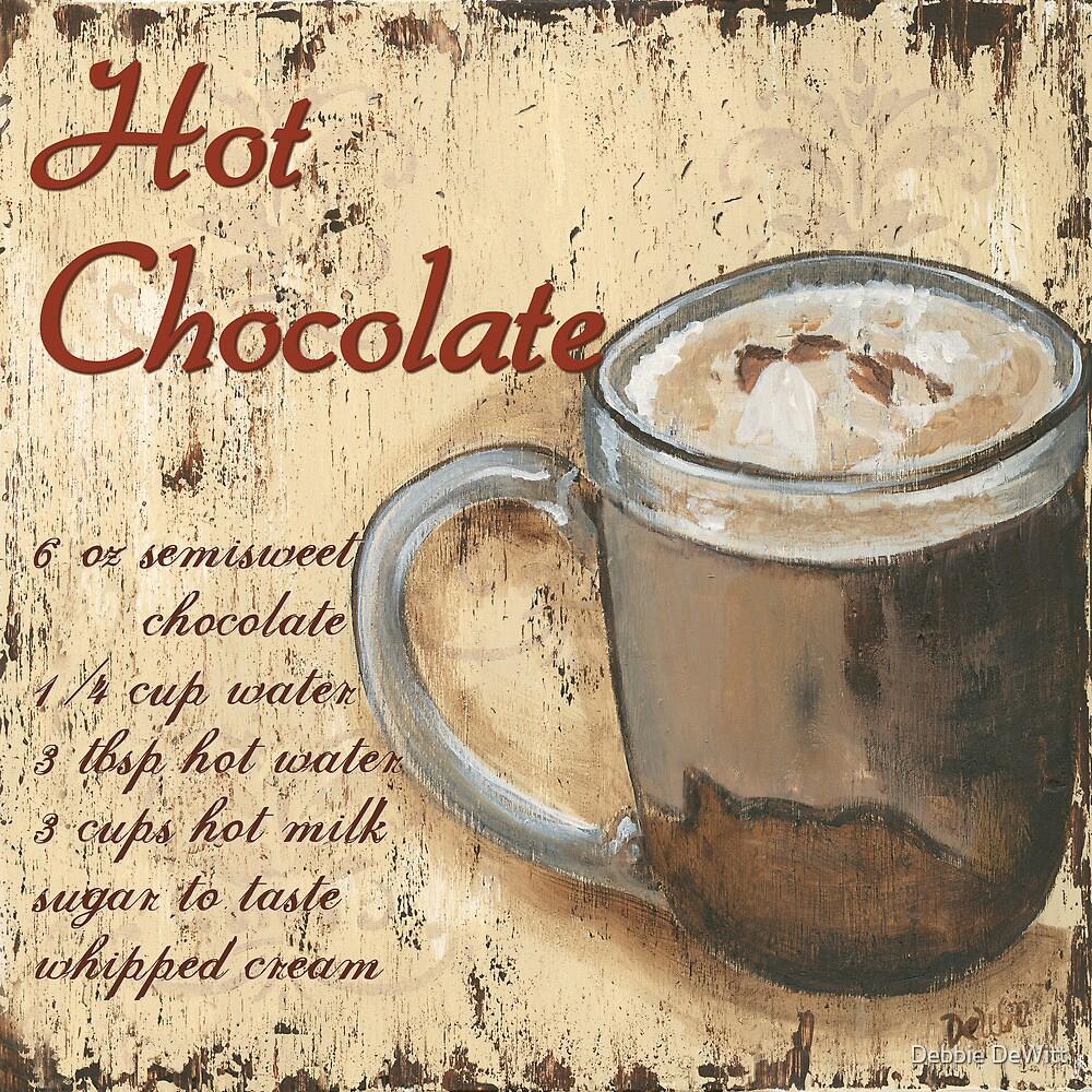 hot chocolate by Debbie DeWitt