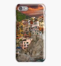 Fiery Cinque Terre iPhone Case/Skin