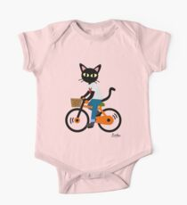 Summer cycling Short Sleeve Baby One-Piece