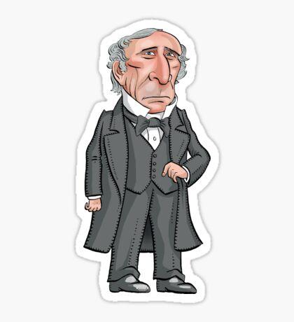 President John Tyler Sticker