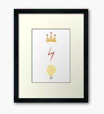 The Golden Trio :) Framed Print
