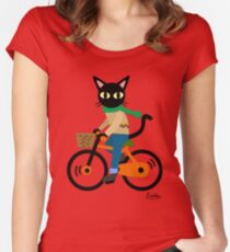 Cycling Women's Fitted Scoop T-Shirt
