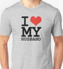 I love my husband Unisex T-Shirt