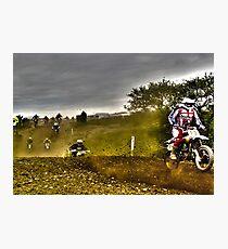 dirt bike Photographic Print