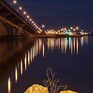 Skyway Bridge by Bill  Watson