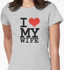 I love my wife Women's Fitted T-Shirt