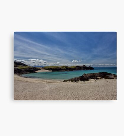 Clachtoll Bay Canvas Print