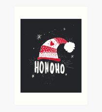 HO HO HO HO Art Print