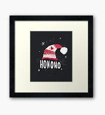 HO HO HO HO Framed Print